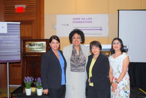 Inaugural Luncheon - Rupsi Burman, Hon. Diane Watson, CEDAW Global Chair - Elahe Amani and Saumi Nandy